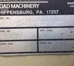 INGERSOLL-RAND SD110D For Sale In Montpelier, Vermont image 6