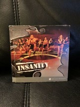 Insanity Total Body Workout Program 9 Disc DVD Set Missing 1 Disc Beachbody - $17.09