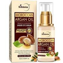 StBotanica Moroccan Argan Oil Firming & Illuminating Under Eye Serum, 25ml - For