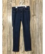 H&M Squin Jeans Low Waist Slim Leg Size 28 Msre 31x31 - $15.83