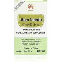 Bai He Gu Jin Wan (Lilium Teapills), 200 ct, Min Shan - $16.56