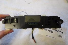 07 08 09 10 11 2009 2010 Toyota Rav4 Digital Clock Display 488055-2070 OEM 775W - $21.63