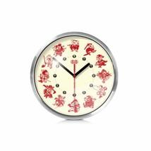 PANDA SUPERSTORE 8-inch Chinese Characteristics Wall Clock¡ª¡ª(Twelve Zodiac Pap - $42.13