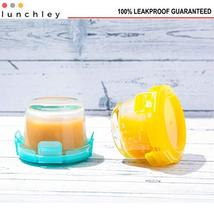 Glass Baby Food Storage Containers with Lids | Set of 12 | 4 oz Glass Food Conta image 6