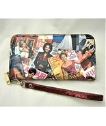 Michelle Obama Magazine Cover Wallet with Removable Wristlet Strap - $18.80