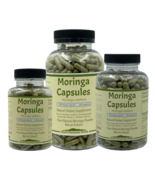 Moringa Capsules made with Organic Moringa no fillers - $17.95+