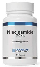 Douglas Laboratories - Niacinamide - Vitamin B3 to Support Cardiovascular Health