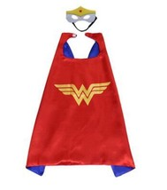 TPDT* Style Kids Superhero Capes Super Hero Cape And Mask Party Supplies... - £15.63 GBP