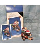 Hallmark Keepsake Hockey Thrills Nick and Christopher # 2 in Series QX2152  - $13.89