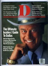 Larry Hagman on Cover of July 1987 D Magazine Dallas Texas Rocky Powell - $49.63