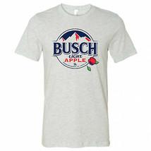 Busch Light Apple White Mountains Logo T-Shirt Grey - $29.98+