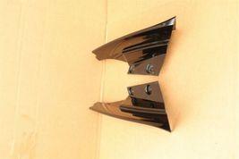 17-18 Nissan Rogue Rear Quarter Taillight Moldings Trims Extensions L&R image 3