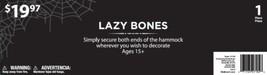 Lazy Bones Decoration, 64' Reaper Halloween Decoration By Fun World - €33,10 EUR