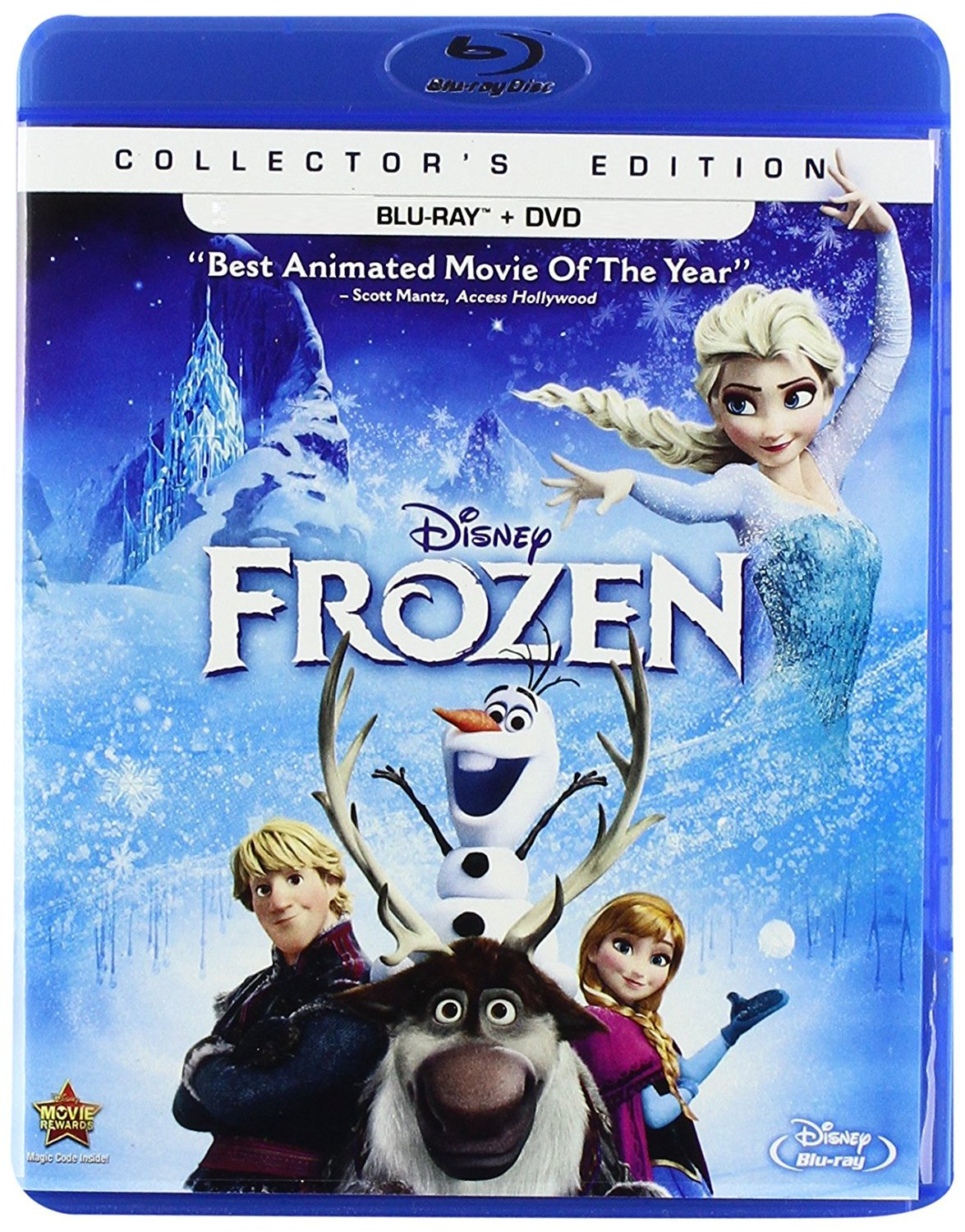 Disney Frozen  (Blu-ray/DVD Combo Pack)