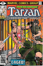 Tarzan Lord of the Jungle Comic Book #26, Marvel Comics 1979 NEAR MINT - $8.79