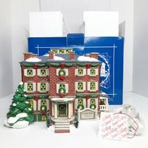 Vintage Department 56 Snow Village Old Chelsea Mansion 1997 5654903 Mint In Box - $72.38