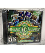 Classic Treasures 3 Hidden 10 Object NEW PC Game DVD Rom 1000 Puzzles - $9.89
