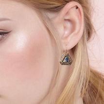 Metal Vintage Geometric Earrings 2018 Fashion Ethnic Earrings For Women Jewelry  - $3.99