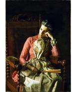 Thomas Eakins - Miss Amelia Van Buren - Poster Wall Art Home Decor - $22.99+