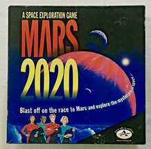 Mars 2020 Game Vtg. Space Exploration Race To Space Board Game Educational - $16.34