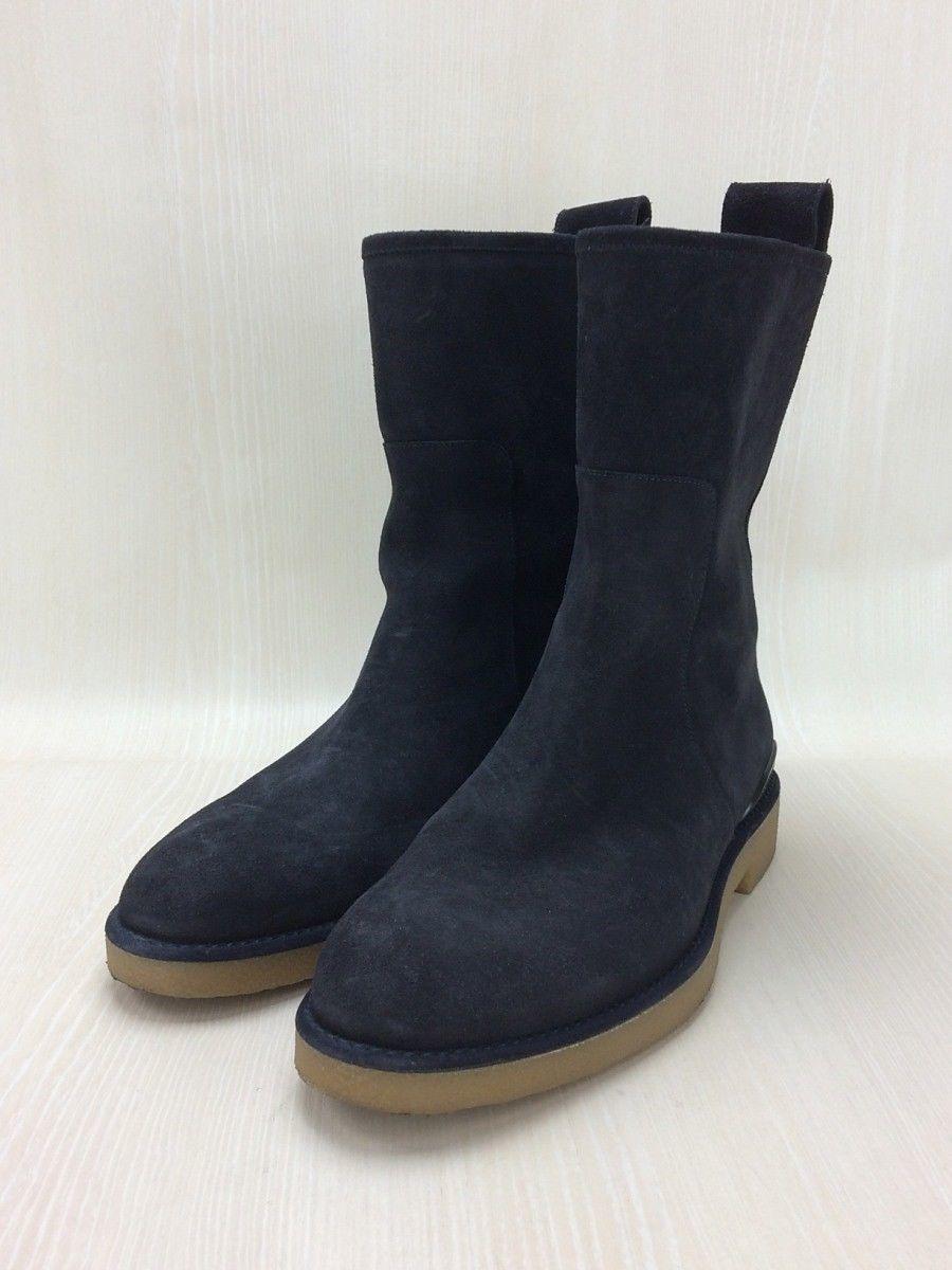 LOUIS VUITTON Pecos Boots US7.5 UK7 / NVY / Suede
