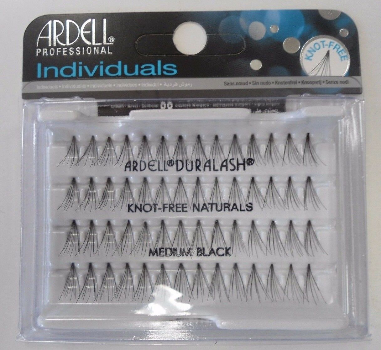 Primary image for Ardell DuraLash Knot Free Individual Lashes Medium Black