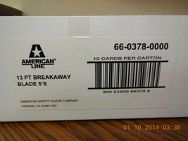 20 AMERICAN LINE 66-0378 Snap Off Blades, 4 Packs of 5 image 2