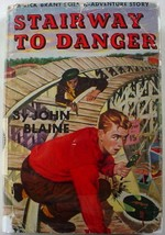 Rick Brant Stairway to Danger John Blaine Science Adventure picture cove... - $6.99