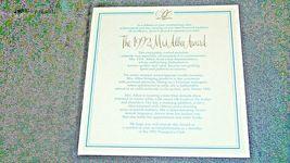Miss Albee Award Figurine with Box Avon AA20-2155 Vintage image 10