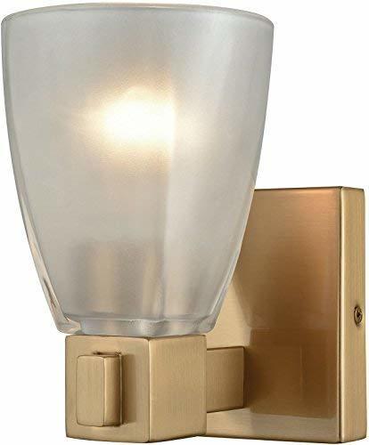 Elk Lighting 11990/1 Vanity-Lighting-fixtures, 8 x 5 x 7, Brass