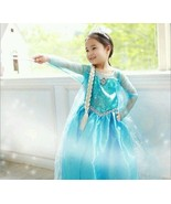 Frozen Elsa Costume Dress - size 7/8 Ships from - $4.99