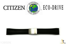 Citizen Eco-Drive Original AT4008-01E 24mm Caoutchouc Noir Bracelet de Montre - $147.14