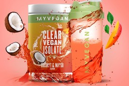 MYVEGAN Clear Vegan Isolate - Coconut Mango 10.1 oz (286.4G) - $25.00