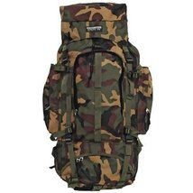 Large Extreme Pak Invisible Pattern Camouflage Backpack - $29.86