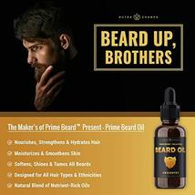 Beard Oil Conditioner - Unscented All Natural Virgin Argan, Jojoba, Grapeseed Oi image 3