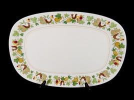 "Charming & Sweet Vintage Birds Fruit Leaves Noritake Homecoming 13 1/2"" Platter - $15.99"