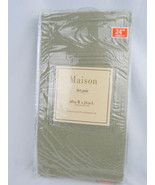 Curtains Elrene Home Fashion Maison Sage Tier Pair 60 in W x 24 in L - $27.71
