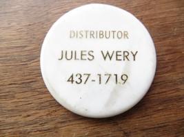 Hawthorn Mellody Farm Dairy,Distributor Jules Wary Merchant Token - $14.20