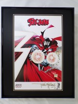 Todd McFarlane Signed Framed 16x20 Spawn Road to 300 Poster Display AW  - $186.99