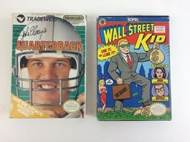 Wall Street Kid & John Elways Quarterback Bundle NES W/ Boxes, Manuals & Sleeves - $32.71