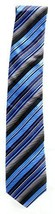 Alfani Spectrum Men's AF0406P7 Henry Stripe Neck Tie Blue / Multi - $12.86