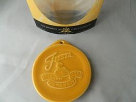 Fiesta Fiestaware 75th Anniversary Christmas Ornament Marigold New marke... - $10.40