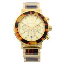 Michael Kors Lillie Tortoise Acetate Gold-tone Steel Quartz Ladies Watch MK5790 - $119.00