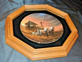 Commemorative Plate For Amber Waves of Grain AA21-1001 Vintage    - $119.95