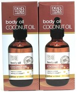 2 Dead Sea Collection 4 Oz Coconut Smoothing Moisturizing Gentle Body Oil - $26.99