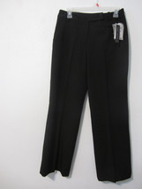 "Nwt Women's Size 8P ""Larry Levine"" Black, Career, Dress Pants - $15.00"