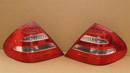 03-06 Mercedes W211 E320 E500 LED Taillight Tail Lights Lamps Set L&R