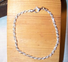 Sterling Silver Bracelet, 925 Italy stamp fine ... - $9.74