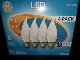 G E Lighting 4.2 W Led Cam Daylight Bulb (4 Pack) Lasts 13 Yrs - $22.99