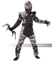 Arctic Winter Forces Ninja Kids Costume Dress Up California Costumes 003... - $9.89